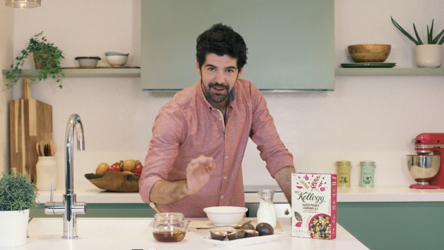KELLOGG'S - Cooking with Miguel Angel Muñoz